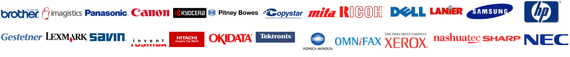 Copier Lease - Supported Brands